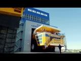 Самый большой карьерный самосвал в Мире! БелАЗ 75710.